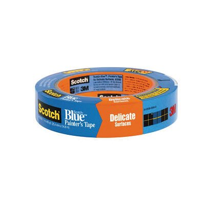 3M X 60 Yard Scotch-Blue™ 2080 Painter's Tape For Delicate Surfaces (36 Rolls Per Case)