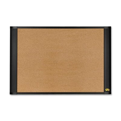 "3M Cork Bulletin Board, Self Sticking, 48""x36"", Brown"