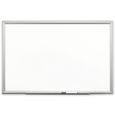 3M Porcelain Marker Board, Steel Backed, Aluminum