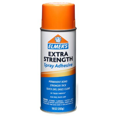 Elmers 10 Oz Extra Strength Spray Adhesive E456