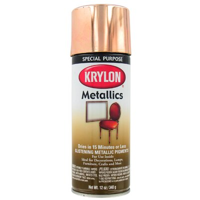 Krylon 12 Oz Copper Metallic Spray Paint