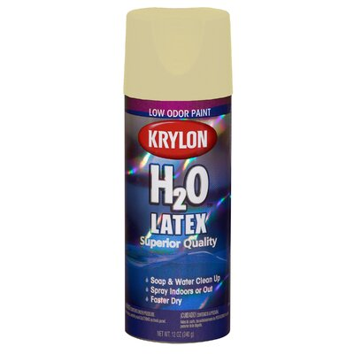 Krylon Niagara Ivory Mist H2O™ The Super Smooth Latex Spray Paint