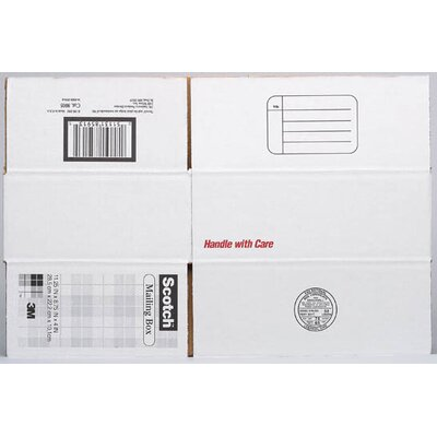 "3M 17.25"" x 11.25"" x 6"" Scotch Mailing Box"