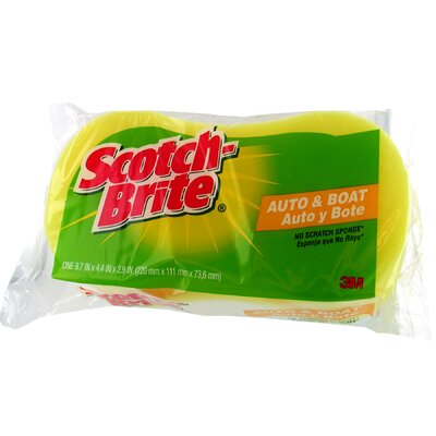 3M Scotch-Brite Handy Grip Household Scrubber Sponge