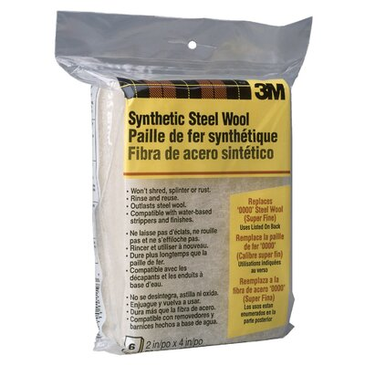 3M 0000 Extra Extra Fine Synthetic Steel Wool 10119NA