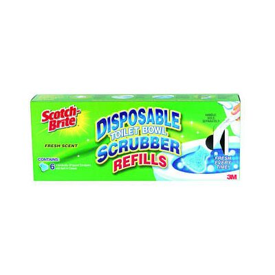 3M Scotch-Brite Disposable Toilet Bowl Scrubber Refill