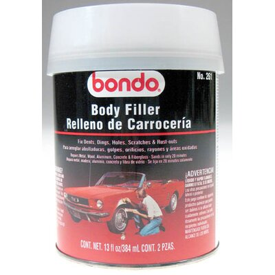 3M Salmon Bondo Body Filler