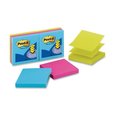 3M Post-it Pop-up Notes (6 Per Pack)