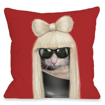 OneBellaCasa.com Pets Rock GG Pillow