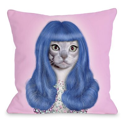 OneBellaCasa.com Pets Rock Gurl Pillow