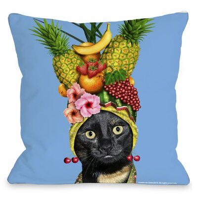 OneBellaCasa.com Pets Rock Fruit Pillow