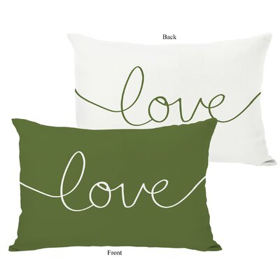 OneBellaCasa.com Holiday Love Mix and Match Pillow