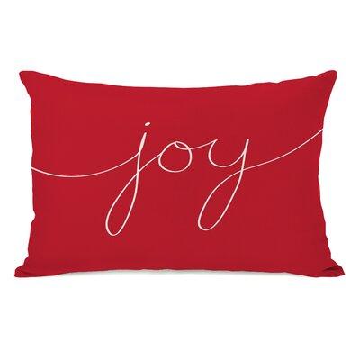 One Bella Casa Holiday Joy Mix and Match Pillow