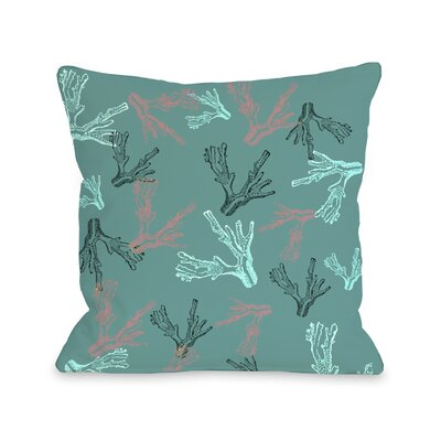 One Bella Casa Coral Reef Pillow