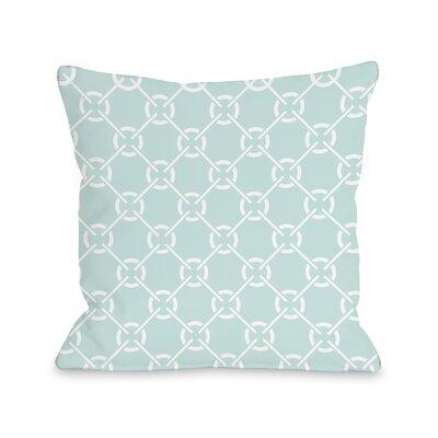 OneBellaCasa.com Cecile's Circles Pillow