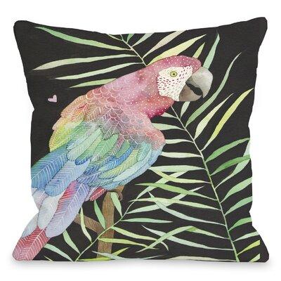OneBellaCasa.com Parrot Pillow