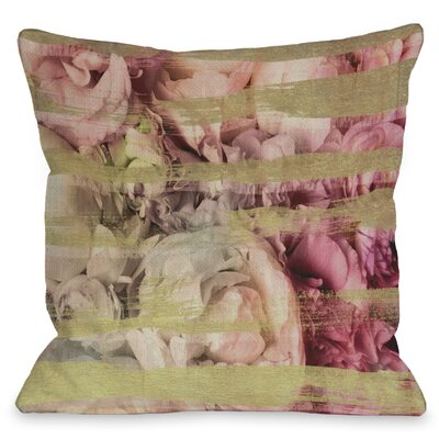 OneBellaCasa.com Oliver Gal Field of Roses Pillow