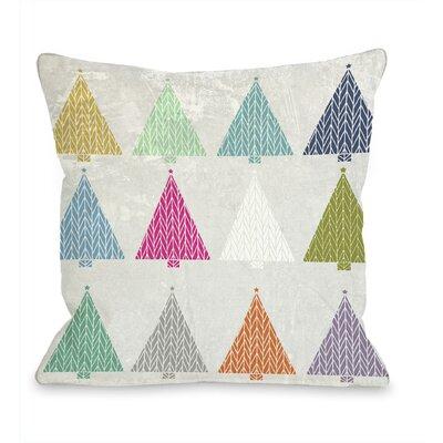 One Bella Casa Coloradas Trees Pillow