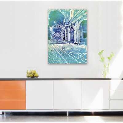 "One Bella Casa ""Monte Maria"" Graphic Art on Canvas"