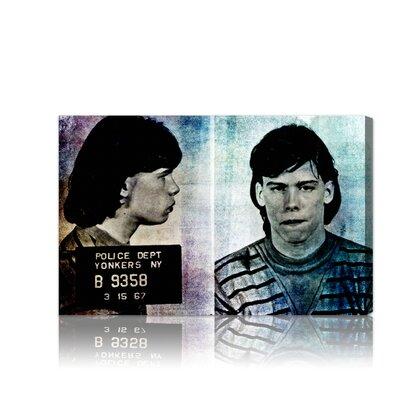 ''Steven Tyler Mugshot'' Graphic Art on Canvas