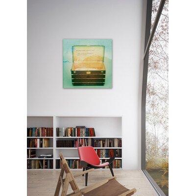 """One Bella Casa """"Wanderlust"""" Graphic Art on Canvas"""