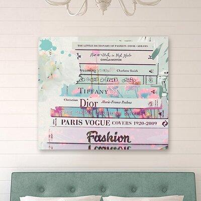 """One Bella Casa """"Romantica"""" Graphic Art on Canvas"""