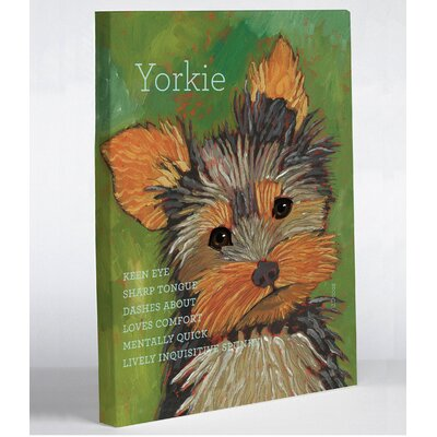 OneBellaCasa.com Yorkie 1 Wall Decor