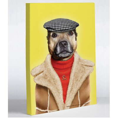 OneBellaCasa.com Pets Rock Dog Boy Canvas