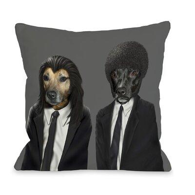 OneBellaCasa.com Pets Rock Hit Dogs Pillow