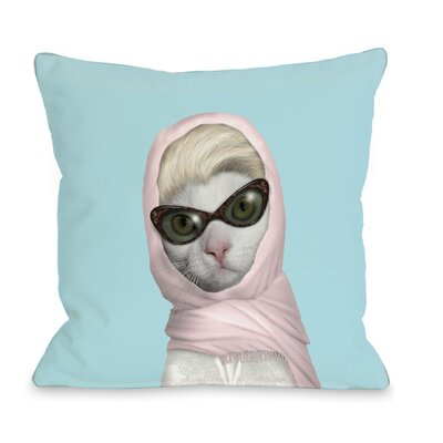 OneBellaCasa.com Pets Rock Princess Pillow