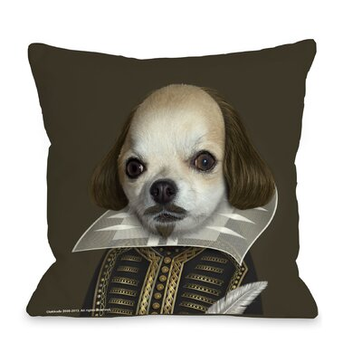 OneBellaCasa.com Pets Rock Shakespeare Pillow