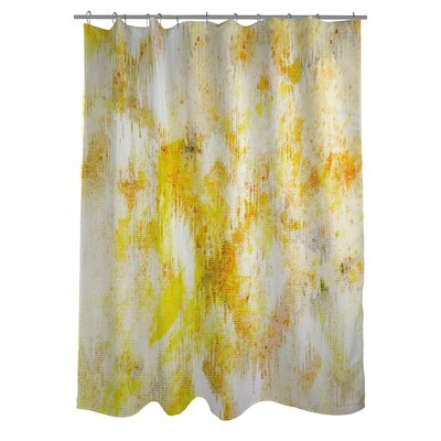 OneBellaCasa.com Oliver Gal Bird Song Polyester Shower Curtain