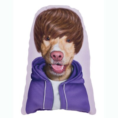OneBellaCasa.com Pets Rock Teen Shaped Pillow