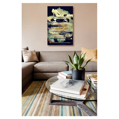 """One Bella Casa """"Clear Thoughts"""" Graphic Art on Canvas"""