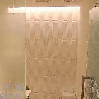 Inhabit Wall Flats Stitch 10 Piece Wallpaper Tiles