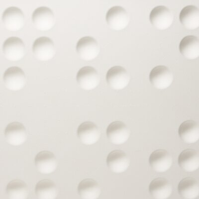 Inhabit Wall Flats Braille 10 Piece Panel Wallpaper (Set of 10)