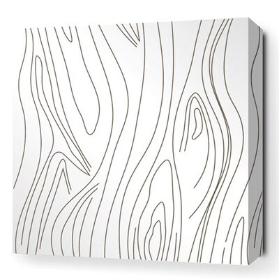 Madera Stretched Graphic Art on Canvas