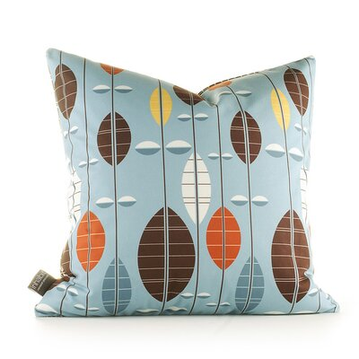 Inhabit Aequorea Carousel Pillow in Cornflower
