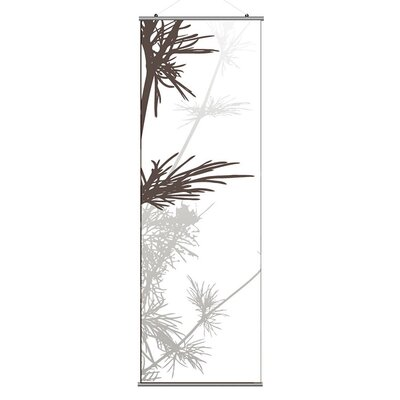 Inhabit Morning Glory Prairie Slat in Rust and Charcoal 3