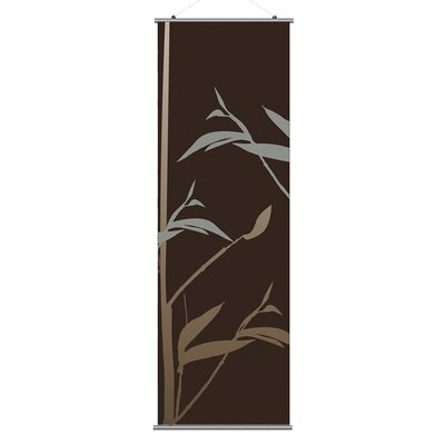 Inhabit Morning Glory Tall Grass Slat Wall Hanging
