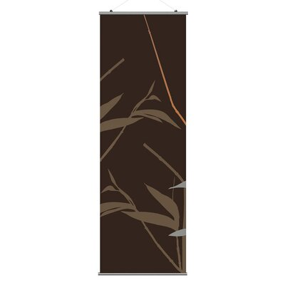 Inhabit Morning Glory Tall Grass Slat in Charcoal and Rust 1