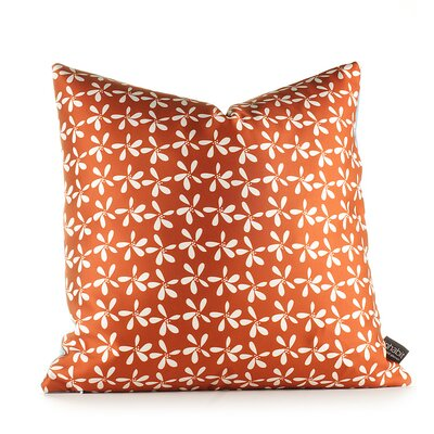 Inhabit Aequorea Rhythm Stencil Pillow in Cornflower
