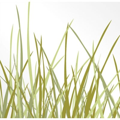 Inhabit Nourish Summer Grass Stretched Graphic Art on Canvas