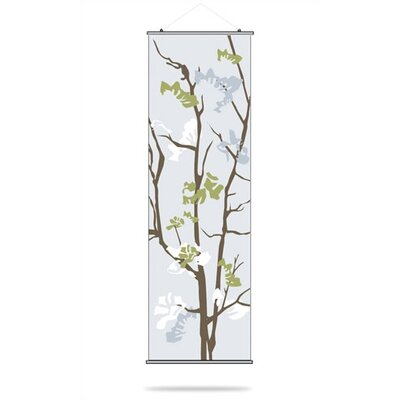 Inhabit Ailanthus Slat Hanging Panel in Sky