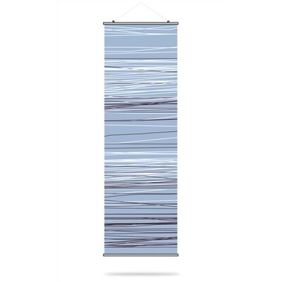 Inhabit Rain Slat Hanging Panel in Sky