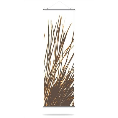 Inhabit Thatch Slat Hanging Panel in Sunshine