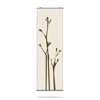 Inhabit Axis Slat Hanging Panel in Grass