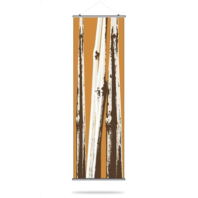 Inhabit Bamboo Slat Hanging Panel in Sunshine