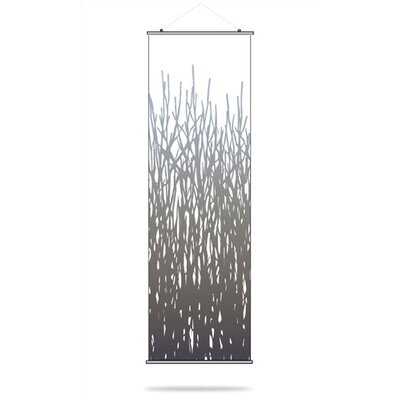Inhabit Field Grass Slat Hanging Panel in Artic Sky