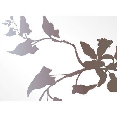 Inhabit Morning Glory Stretched Wall Art in White